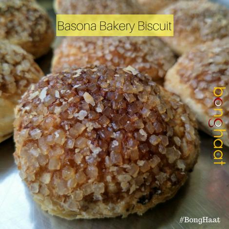 Bengali Bakery Basona Biscuit (650 grams) 20 Pieces