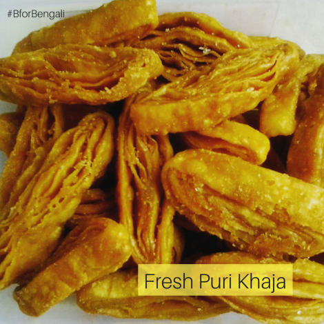 Fresh Puri Khaja 500 grams