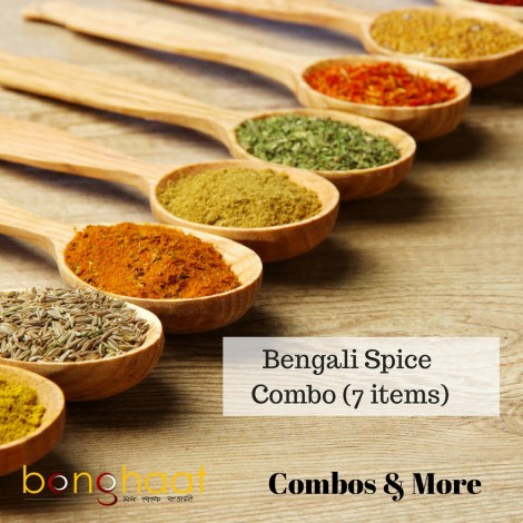 Bengali Spice (Masala) Combo (7 types of spices)