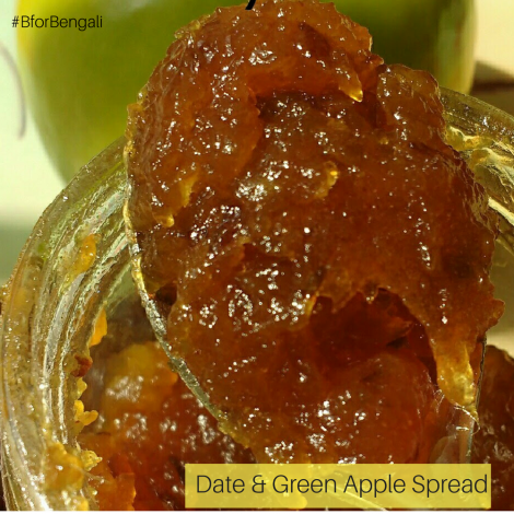 Home Made Date & Green Apple Spread –450 Grams (Pack of 2)