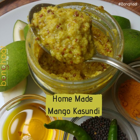 Aam Kasundi (Mango Mustard) 380 G (2 Pack of 190G each)