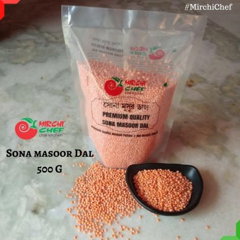 Mirchi Chef Sona Masoor Dal  500 Grams