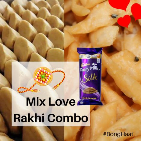 Mix Love Rakhi Combo (5 items)