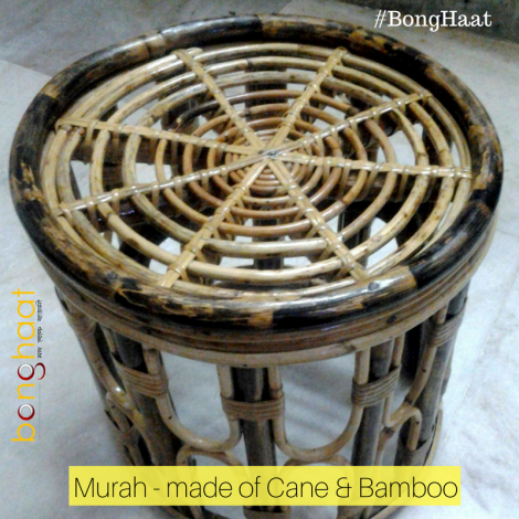 Murah (মোড়া) made of Cane & Bamboo
