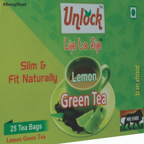 """Unlock"" Lemon Green Tea Bags (pack of 25 Tea bags)"