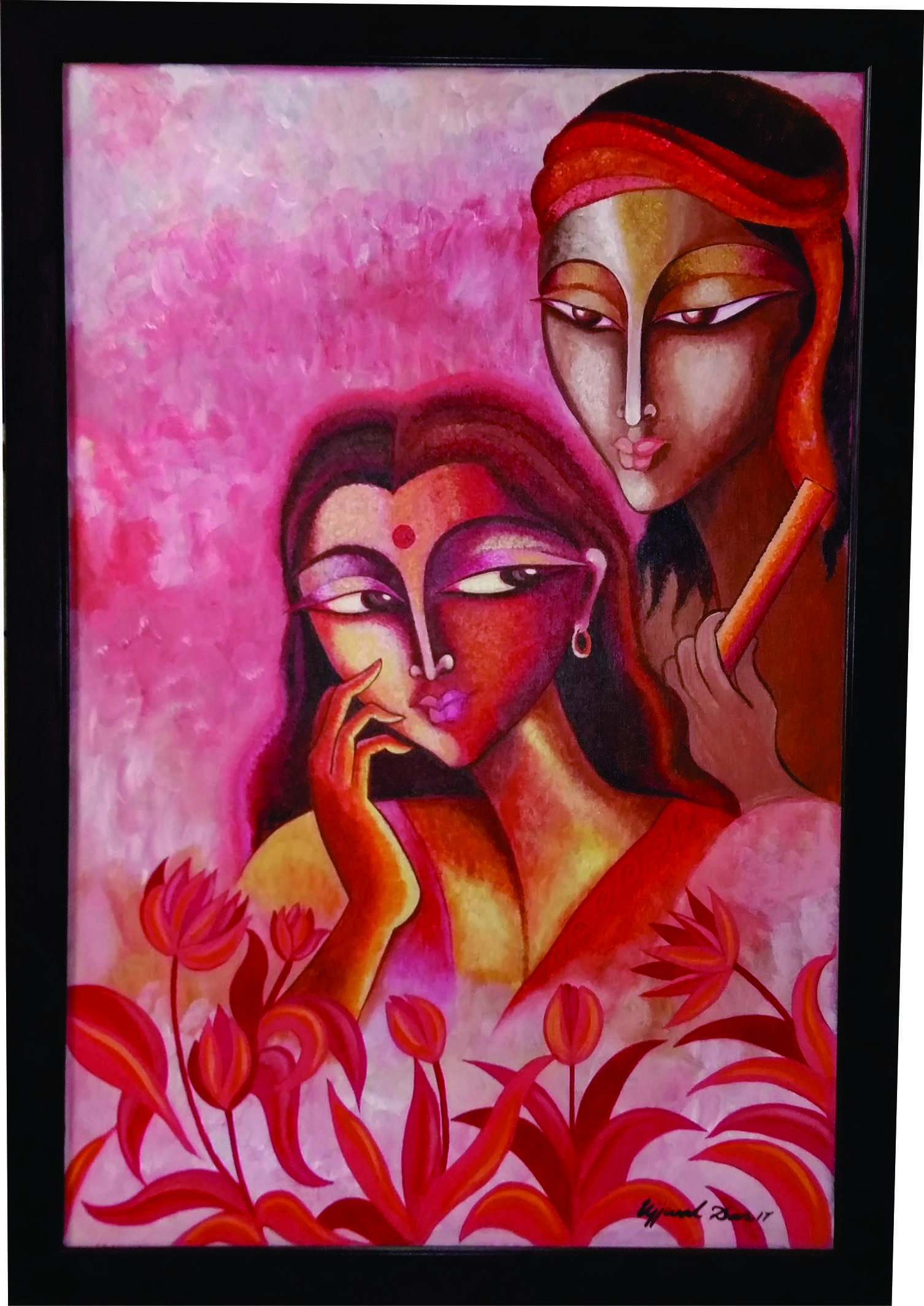 Buy Radha Krishna Canvas Paintings | Radha Krishna Modern ...
