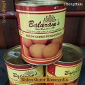 Balaram Mullick's Nolen Gurer Rosogolla (Tinned Packed) 1 KG (20 pieces)