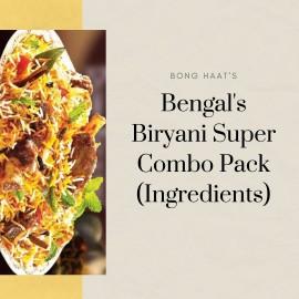Bengal's Biryani Super Combo Pack (Ingredients)