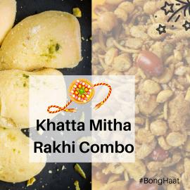Khatta Mitha Rakhi Combo (4 items)