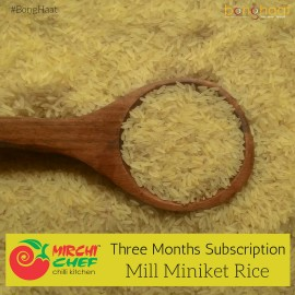 3 Months Subscription- Mill Miniket Rice 25KG