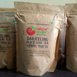 Mirchi Chef's Darjeeling Black Tea (Leaf)- Second Flush (200 Grams)