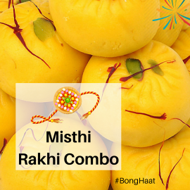 Misthi Rakhi Combo (3 items)