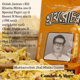 Mukharochak Jhal Misthi Combo (11 items)