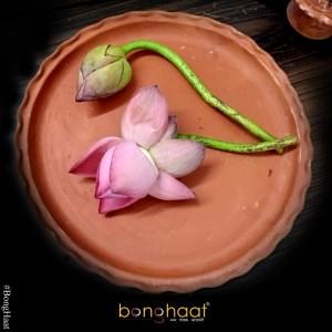 Fresh Pink Lotus Flowers 108 PCS