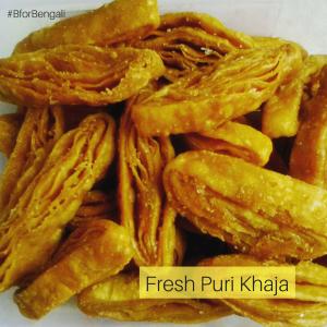 Fresh Puri Khaja 500 grams