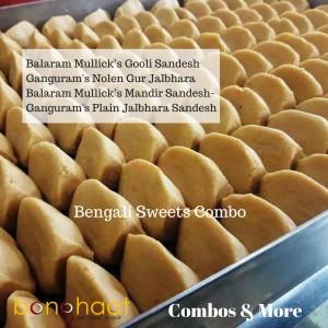 Bengali Sandesh Combo (2 KG)