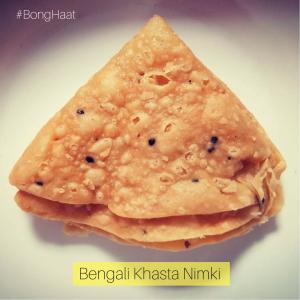 Crispy Bengali Nimki (Khasta Nimki) 400 grams approx