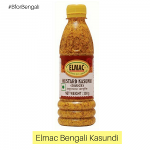 Elmac Bengali Kasundi (Mustard Sauce) 24 units of 300 grams each