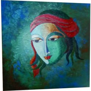 Lord Krishna Paintings - Modern Art