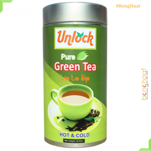 Pure Green Tea 100 Grams (Tin pack)
