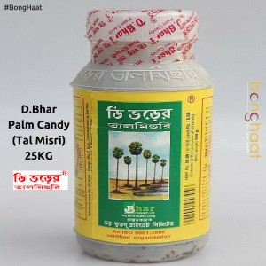 D Bhar Tal Misri (PALM CANDY) 25 KG (Plastic Bottles)
